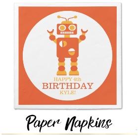 Sam Ann Designs Party Napkins