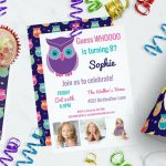 Kids Owl Birthday Party