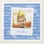Custom Photo Birthday Party Supplies