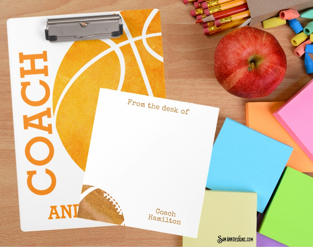 personalized coach gifts
