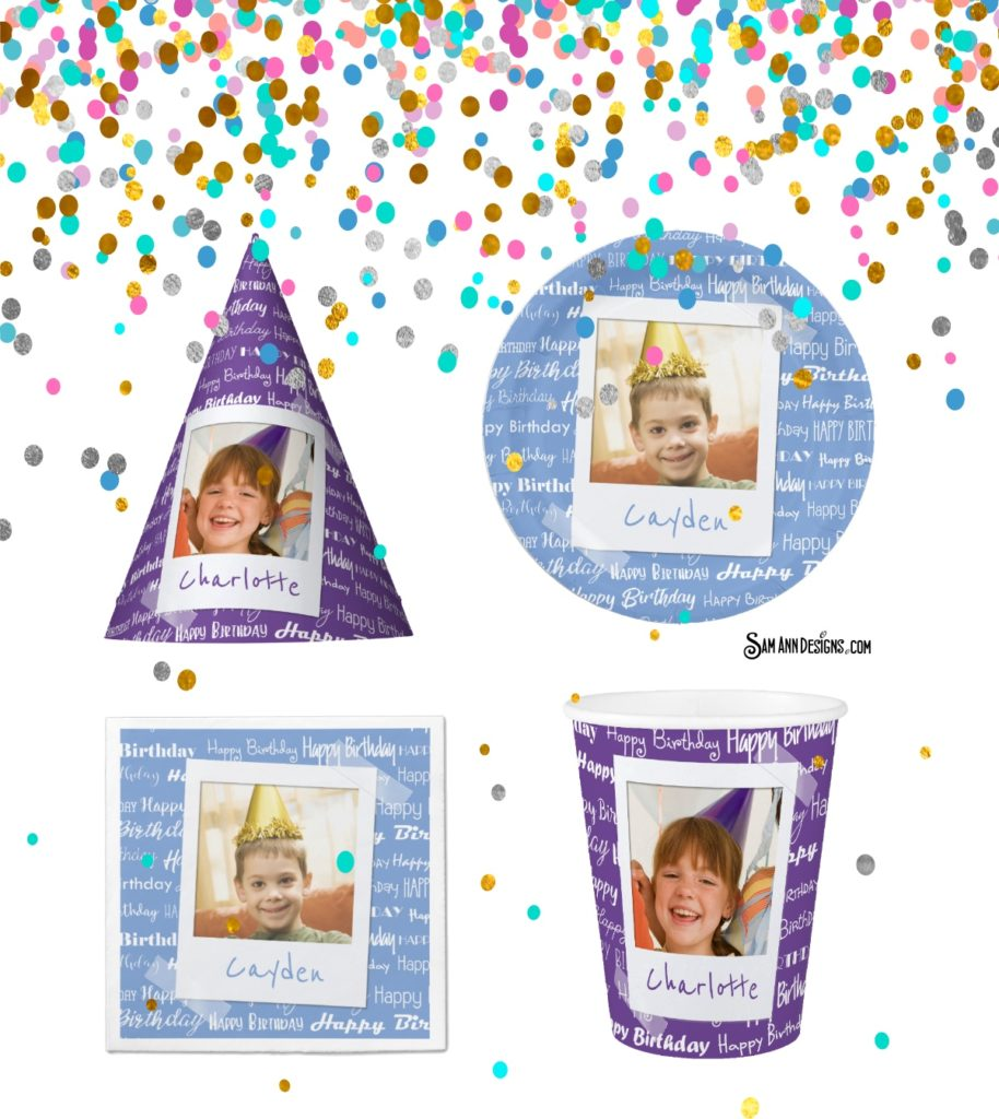 Photo Birthday Party Supplies