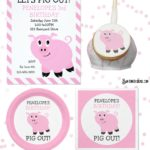 Pig Out! Personalized Pig Birthday Party