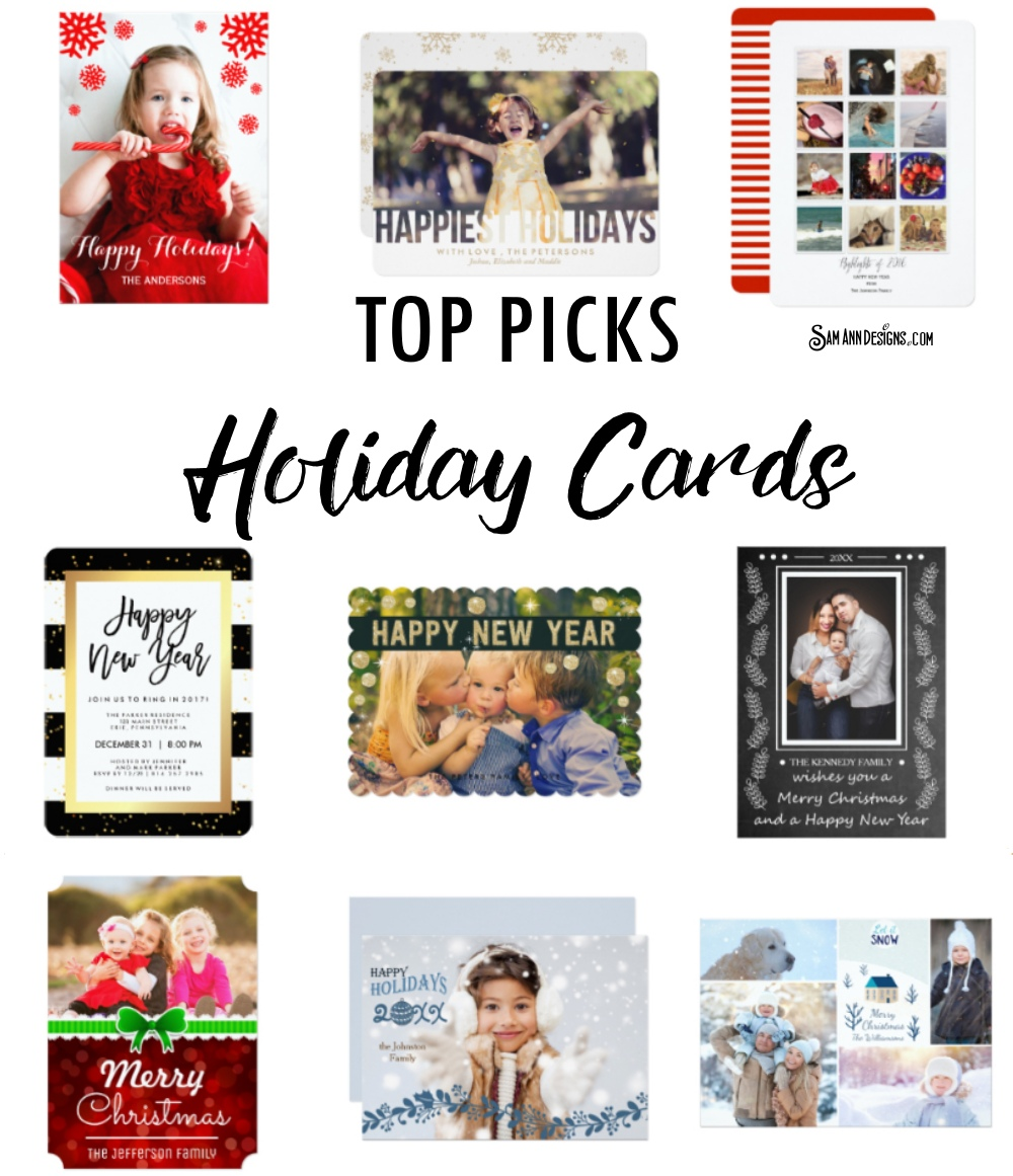 Unique Trendy Holiday Cards