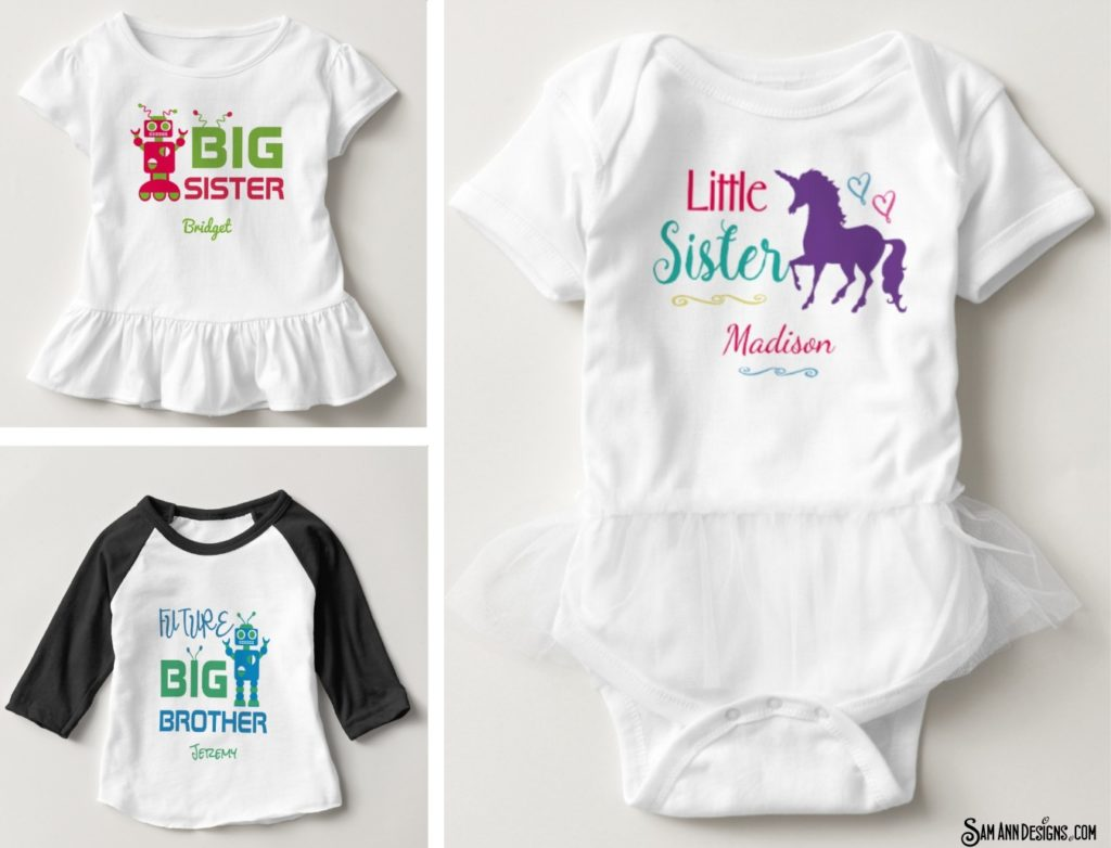 Personalized Sibling Gifts