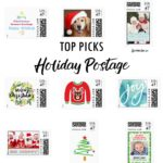Top Picks Christmas & New Years Unique Holiday Stamps