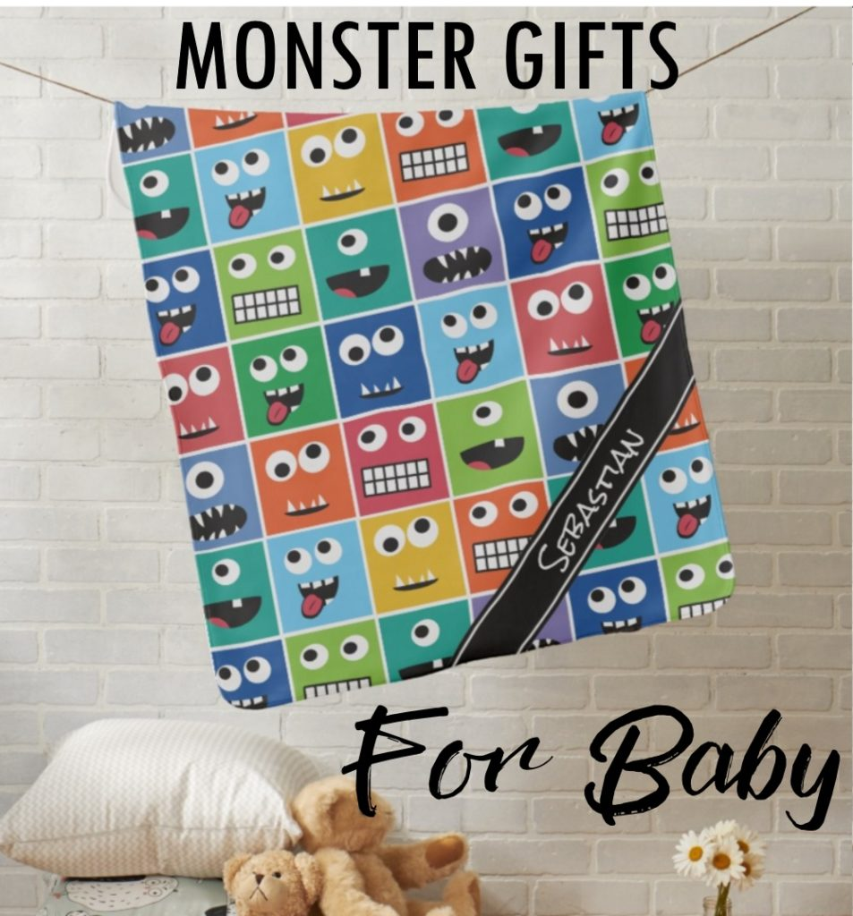 Personalized Monster Baby Gifts