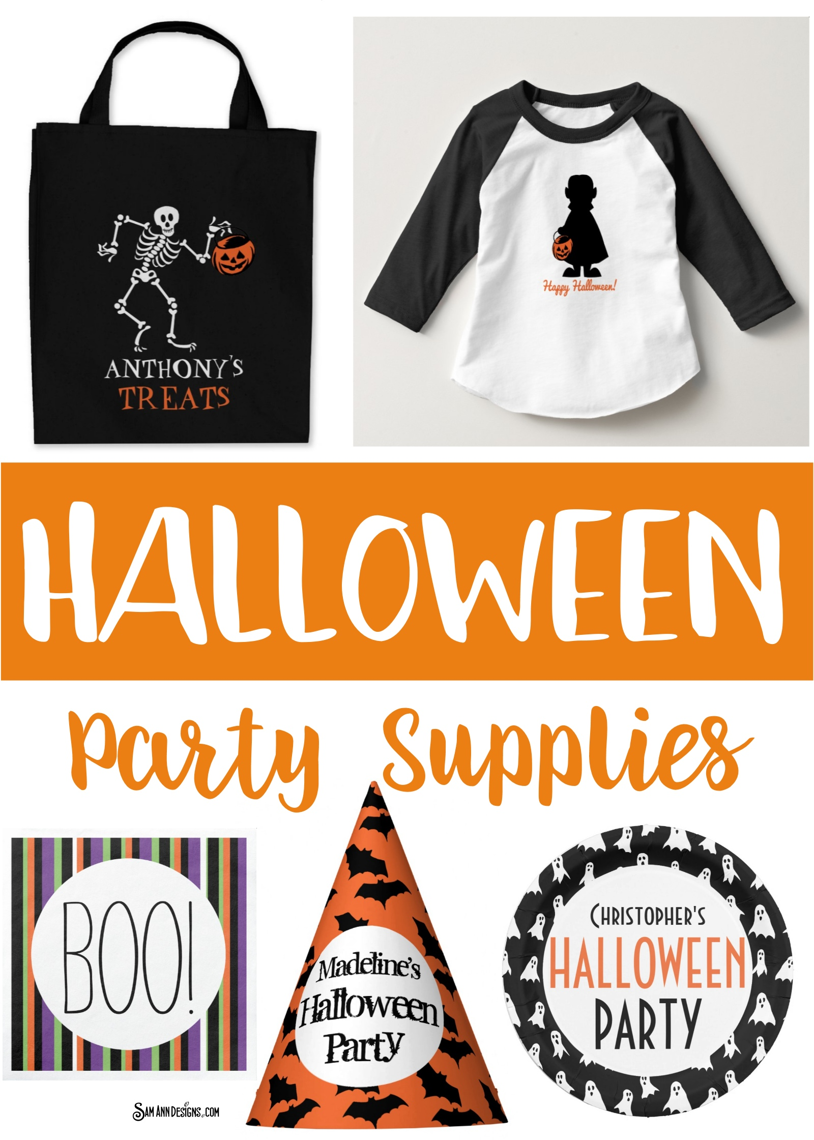 Personalized Halloween Party