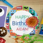 Kids Monster Birthday Party Supplies