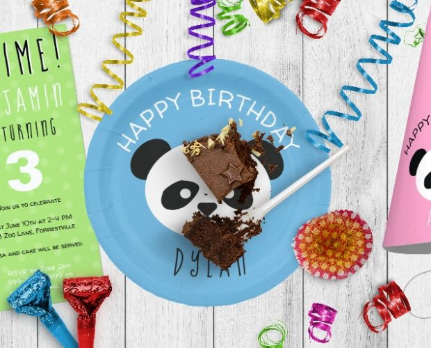 Panda Birthday Party Supplies