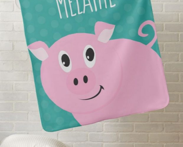 Personalized Pig Baby Gift