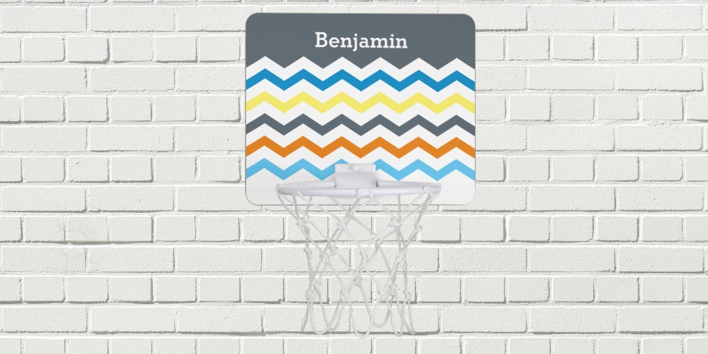 Personalized Basketball Hoops
