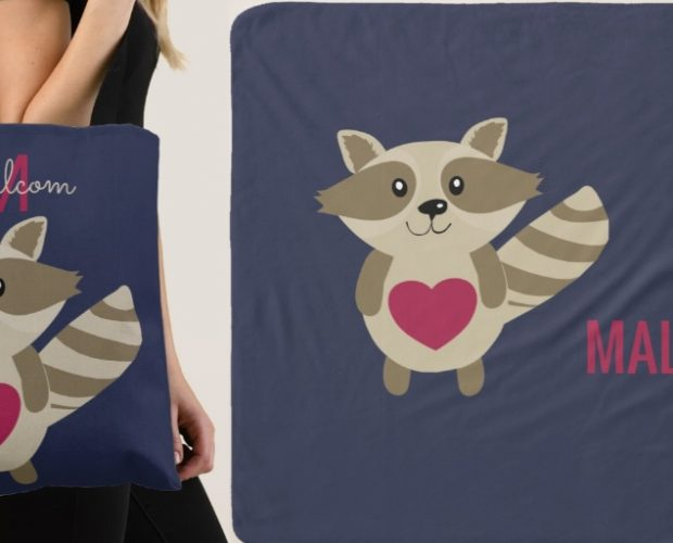 Cartoon Baby Raccoon Gifts
