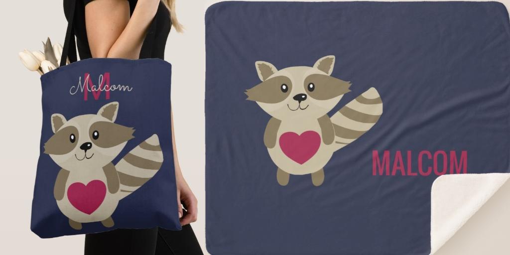 Cartoon Baby Raccoon Gifts