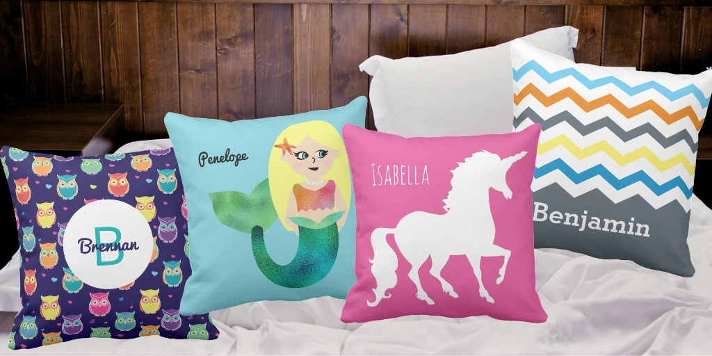 Personalized Throw Pillows