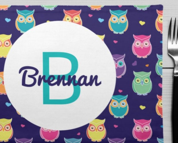 Kids Personalized Placemats