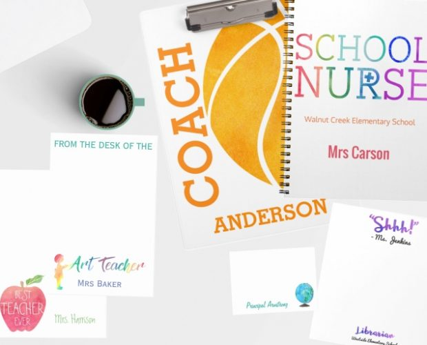 Personalized Teacher Stationery