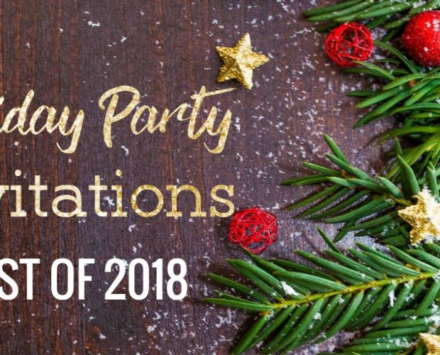 Best Christmas Party Invitations 2018