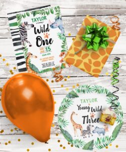 Wild things party